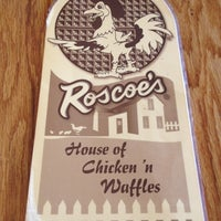 Photo taken at Roscoe's House of Chicken and Waffles by Alex P. on 6/3/2012