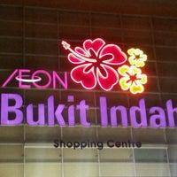 Photo taken at AEON Bukit Indah Shopping Centre by Syahira R. on 3/24/2012