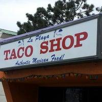 Photo taken at La Playa Taco Shop by D C. on 7/18/2012