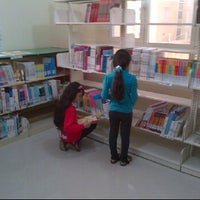 Photo taken at National Library (Childrens Library)@ Al Bateen by Emirates S. on 2/26/2012