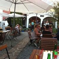 Photo taken at Kővirág Panzió és étterem by Csaba S. on 8/18/2012