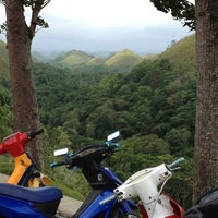 Photo taken at The Chocolate Hills by Juni S.    c',) on 7/30/2012
