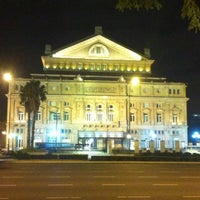 Photo taken at Teatro Colón by Alain R. on 8/2/2012