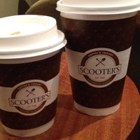 Photo taken at Scooter's Coffeeehouse by Jill C. on 7/14/2012