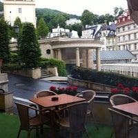 Photo taken at Hotel Romance Puškin by Berna G. on 6/14/2012