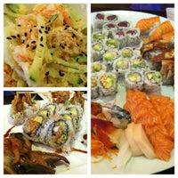 Photo taken at Sushi Palace by Huan N. on 3/15/2012