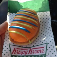 Photo taken at Krispy Kreme Doughnuts by Jason H. on 3/14/2012