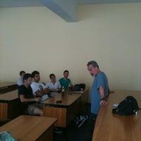Photo taken at Universitatea de Vest by Oana B. on 5/4/2012