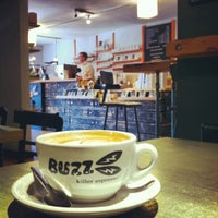 Photo taken at Buzz: Killer Espresso by Riley W. on 5/28/2012