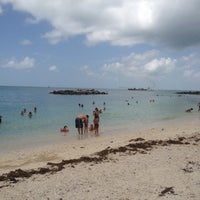 Photo taken at Fort Zachary Taylor State Park Beach by Matthew C. on 7/30/2012