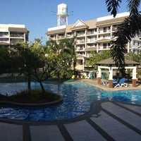 Photo taken at Riverfront Residences - Swimming Pool by Rey S. on 3/9/2012