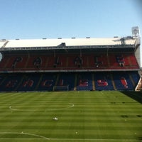 Photo taken at Selhurst Park by Mikey R. on 3/27/2012