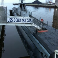 Photo taken at USS Cobia by Timothy S. on 4/1/2012