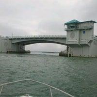 Photo taken at Johns Pass Bridge by S & M. on 2/7/2012