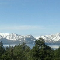 Photo taken at Harveys Lake Tahoe Resort & Casino by Christy O. on 3/10/2012