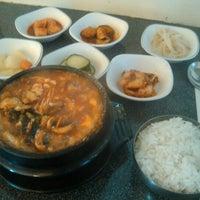 Photo taken at SJ Omogari Korean Restaurant by Andy C. on 8/8/2012