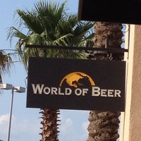 Photo taken at World of Beer by Renee L. on 5/30/2012
