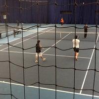 Снимок сделан в University of Warwick Tennis Centre пользователем Sabio C. 3/18/2012