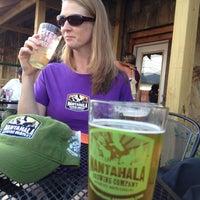 Photo taken at Nantahala Brewing Company by brigflood on 7/28/2012