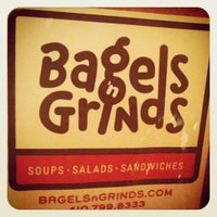 Photo taken at Bagels 'n Grinds by Eric K. on 4/28/2012