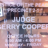 Photo taken at Justice Of The Peace 2-1 by Lisa R. on 7/27/2012