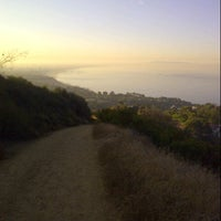 Photo taken at East Topanga Fire Road Trailhead by heather w. on 8/29/2012