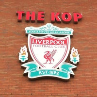 Photo taken at Anfield by wiroj y. on 4/29/2012
