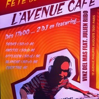 Photo taken at L'Avenue Café by Julien R. on 6/7/2012