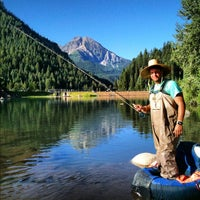 Photo taken at Tibble Fork Reservoir by Samuel W. on 9/7/2012