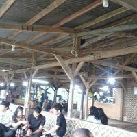 """Photo taken at Saung Punclut """"Sangkan Hurip"""" by rizki n. on 4/22/2012"""