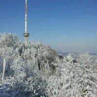 Photo taken at Uetliberg Sendeturm by Iven S. on 2/4/2012