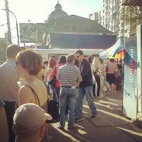 Photo taken at остановка «ул. Рахова» by Алексей В. Ф. on 5/18/2012