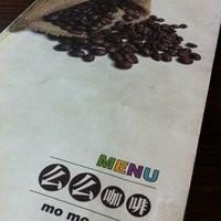 Photo taken at Momo Cafe by Samantha S. on 5/8/2012