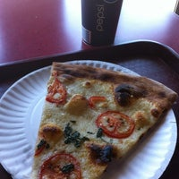 Photo taken at Zeffiro New York Pizza by Tiffany S. on 6/18/2012