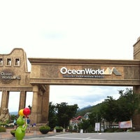 Photo taken at Ocean World by youngjae Cho on 9/8/2012