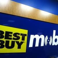 Photo taken at Best Buy Mobile by Joe D. on 3/26/2012