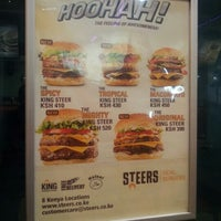 Photo taken at Steers - The Mall by Teri on 8/29/2012