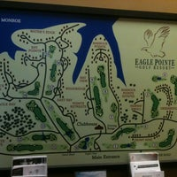 Photo taken at Eagle Pointe Golf Resort by Eric S. on 7/17/2012