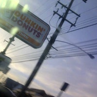 Photo taken at Dunkin Donuts by Chay R. on 3/8/2012
