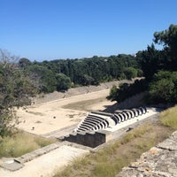 Photo taken at Ancient Stadium by Sarah . on 5/26/2012