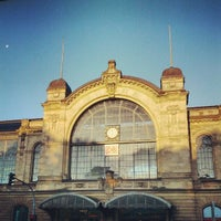 Photo taken at Bahnhof Hamburg Dammtor by moeffju on 7/8/2012