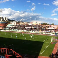 "Photo taken at Stadio Cibali ""Angelo Massimino"" by Mariolina M. on 2/12/2012"