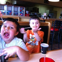 Photo taken at Pizza Inn by John S. on 4/7/2012