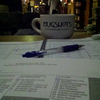 Photo taken at Mugshots Coffeehouse by Paul B. on 2/10/2012