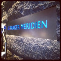 Photo taken at Le Parker Méridien New York by Evan P. on 2/16/2012