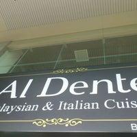 Photo taken at Al Dente by Petrizio M F. on 3/2/2012