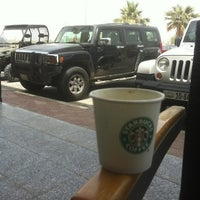 Photo taken at Starbucks by Essam A. on 4/14/2012