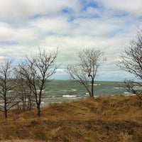 Photo taken at Saugatuck Dunes State Park by Mike S. on 2/18/2012