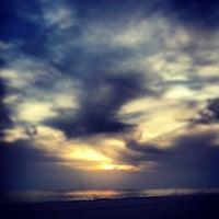 Photo taken at Treasure Island Beach by Justin C. on 6/10/2012