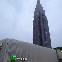 Photo taken at Yoyogi Station by gotetsu on 7/13/2012